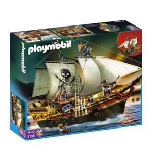 Playmobil – Barco Pirata De Ataque, Set De Juego (5135)