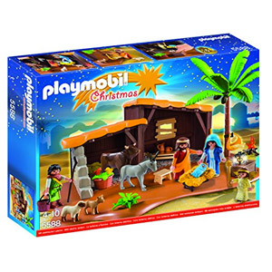 Playmobil Playmobil-5588 Navidad-Playset Bel&eacuten (5588), Multicolor, 39.9 X 29.7 X 7.4