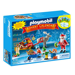 Playmobil Calendario De Adviento – Calendario De Navidad Papá Noel Centro De Embalaje (5494)