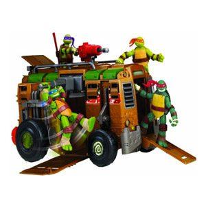 Tortugas Ninja – Autocaravana Shell Raiser (Figuras No Incluidas)