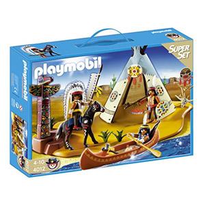 Playmobil Oeste – Superset Campamento Indio (4012)