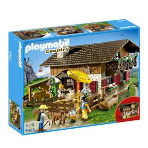 Playmobil Granja – Casa De Los Alpes Con Varios Accesorios (5422)
