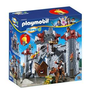 Playmobil – Castillo Maletín Del Barón Negro, Playset (6697)