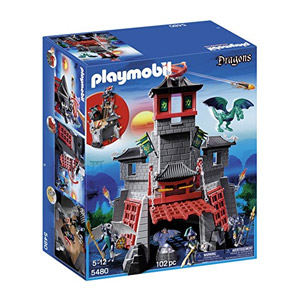 Playmobil Dragones – Fortaleza Secreta Del Dragón (5480)
