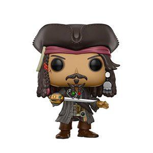 Funko Pop!- Jack Sparrow Figura De Vinilo, Colección De Pop, Seria Pirates 5 (12803)