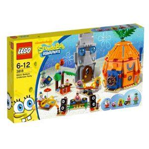 LEGO Bob Esponja 3818 – Fiesta Submarina En Fondo De Bikini