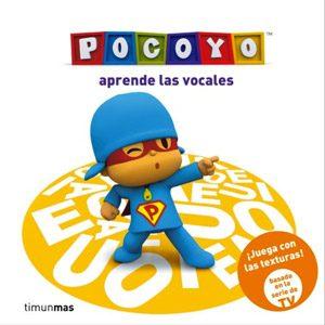Pocoyó Aprende Las Vocales: Libro Con Texturas (Libros Con Texturas)