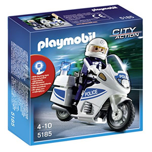 Playmobil 5180 Festartikelmüller De La Motocicleta Con Luz