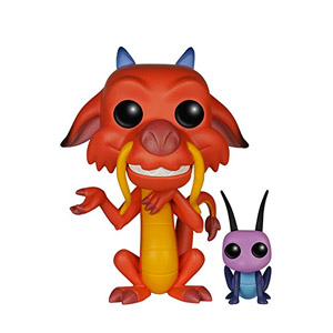 Funko – Pop! Vinilo Colección Disney – Figura Mushu & CRI-Kee (5898)