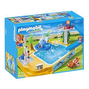 Playmobil Vacaciones – Piscina De Los Niños Con Fuente De Ballena (5433)