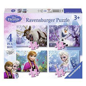 Disney Frozen – Puzzle 4 En La Caja (Ravensburger 7360)