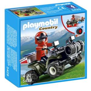 Playmobil Vida En La Montaña – Quad Rescate De Montaña (5429)