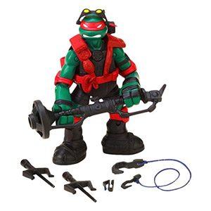 Tortugas Ninja – Figura Articulada S5 Stealth Tech Raph (Giochi Preziosi 95500)