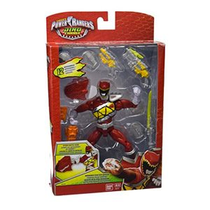 Power Rangers Dino Charge – Figura De Acción Raptor Zord, Color Rojo (Bandai 42176)