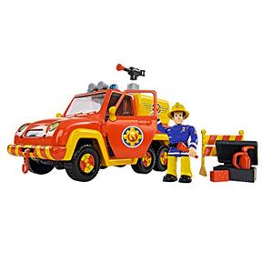 Simba Toys 109257656 Sam El Bombero – Camioneta Venus Con Figura