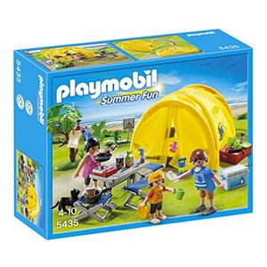 Playmobil Vacaciones – Tienda De Campaña Familiar (5435)