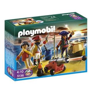 Playmobil Piratas – Tripulación Pirata (5136)