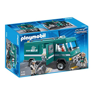 Playmobil Policía – Vehículo Para Transportar Dinero, Playset (5566)