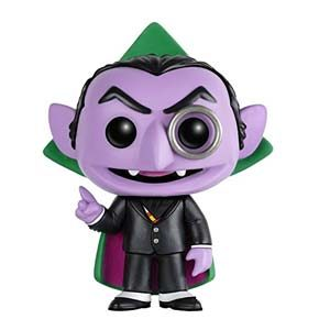 Funko FUN4911 Pop TV: Sesame Street – The Count Figure
