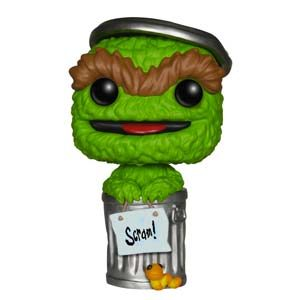 Funko 4910 POP Vinyl Sesame Street Oscar The Grouch Action Figure Playsets