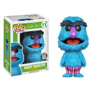 Figura Pop! Sesame Street Herry Monster Exclusive