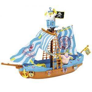 Bob Esponja – Barco Pirata, Incluye Figura De Bob Y Patricio (Simba 9496292)