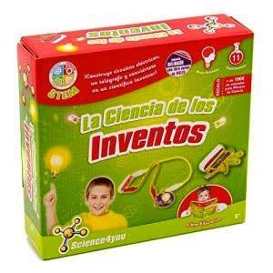 Science4you-La Ciencia De Los Inventos Juguete Científico Y Educativo Stem Para Niños +8 Años, Multicolor, única (605206…