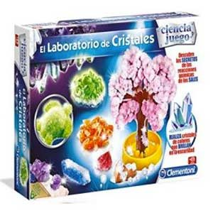 Ciencia Y Juego Laboratorio DE Cristales CREA Tus Cristales DE Colores Brillan EN LA Oscuridad