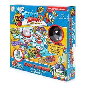 SuperZings- Professor K Juego De Mesa – Race To Rescue-Castellano (CEF21651), Multicolor (Cefa Toys 21651) , Color…