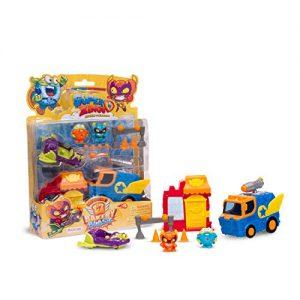 SuperThings Serie 2, Rivals Of Kaboom, Bakery Mission, SZSP0200, Con 2 Figuras, 2 Vehículos Y 1 Panadería