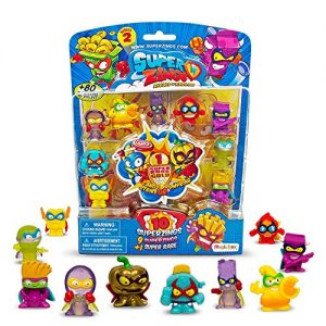 Superzings- Paquete De 4 Con Figuras Varios Accesorios, Color Surtido (Magic Box MBXPSZ2B416IN00)