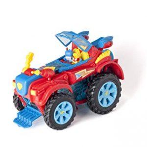 SuperThings PlaySet Héroe Truck, PSZSP112IN20, Con Vehículo Y 2 Figuras Especiales