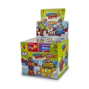 SuperZings – Serie 3 – Display Con Colección Completa De 8 Robots Y 8 Figuras (PSZ3D068IN02), Color Y Modelo Surtido