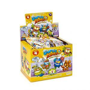 Superzings IV – Display De 50 Figuras Coleccionables SuperZings , Color/modelo Surtido